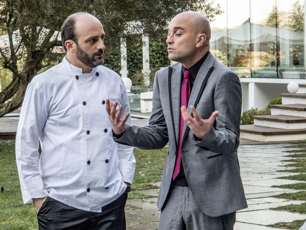 Ciao Brother: Nico Di Renzo e Fabrizio Nardi in una scena del film
