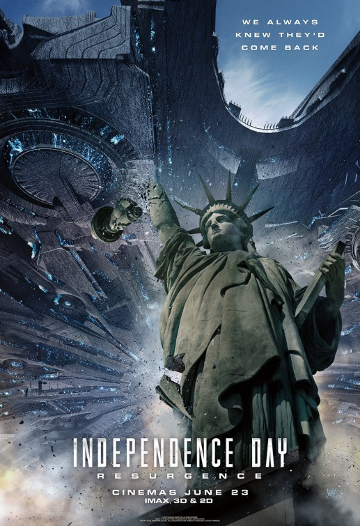 Independence Day: Resurgence - Nuovo poster del disaster movie