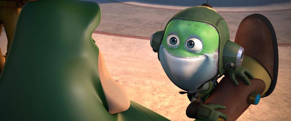 Ratchet & Clank - Il film: una scena del film animato