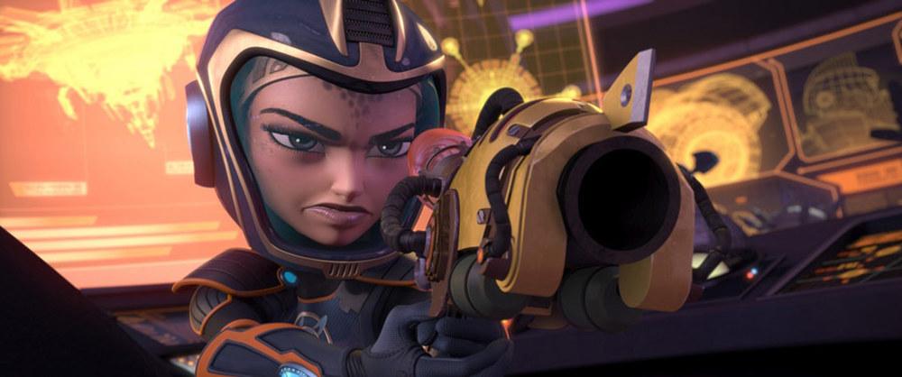 Ratchet & Clank - Il film: un'immagine tratta dal film d'animazione