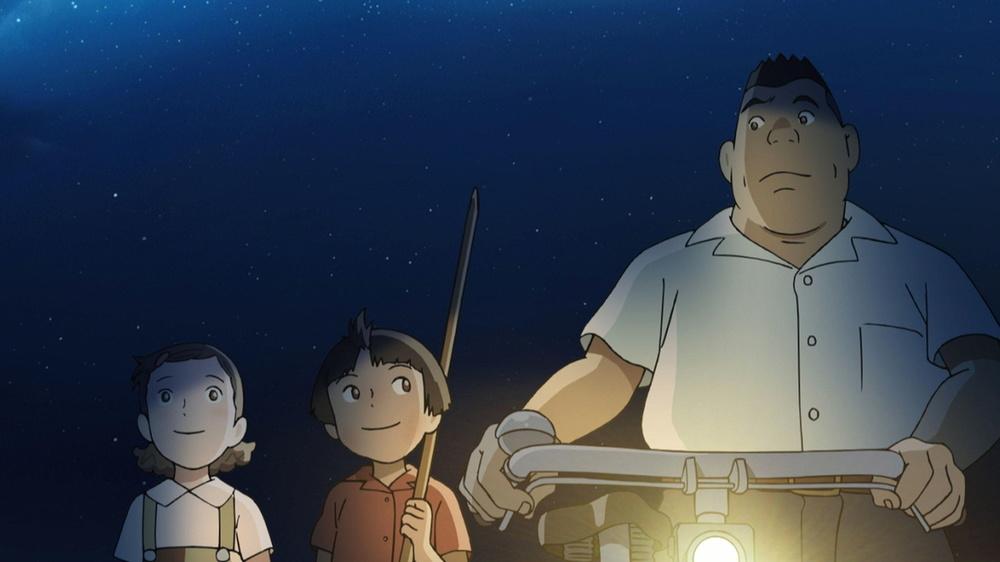 Shinko e la magia dei mille anni: una scena del film animato