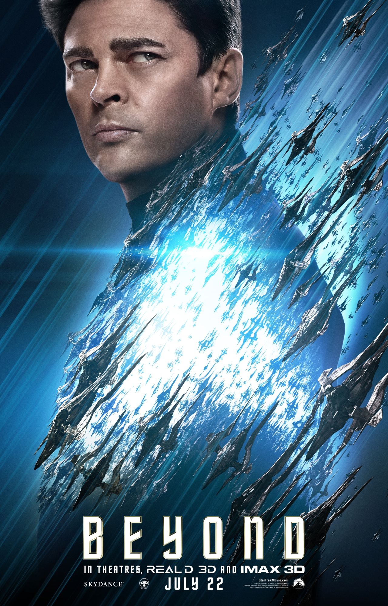 Star Trek Beyond: il character poster di Karl Urban