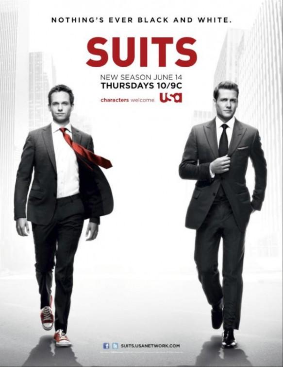 Suits: una locandina per la serie