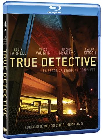 la cover del blu-ray di True Detective 2