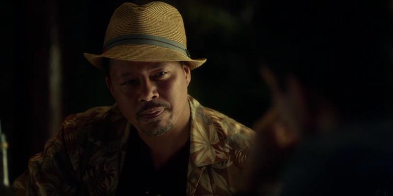 Wayward Pines 2: Terrence Howard in una scena della premiere della seconda stagione