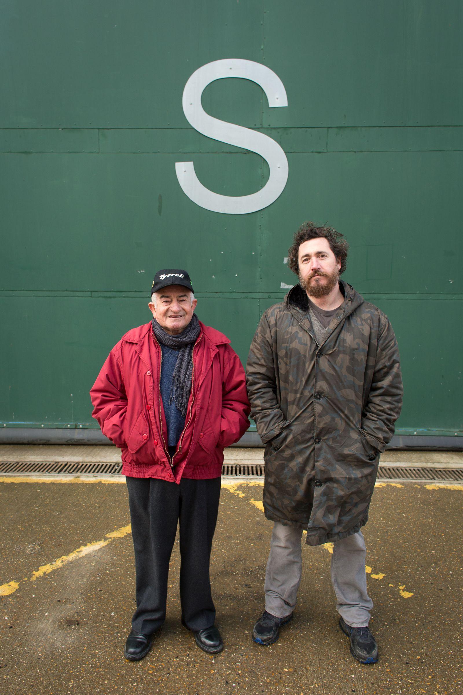 S Is for Stanley: Emilio D'Alessandro e Alex Infascelli in un'immagine promozionale del film