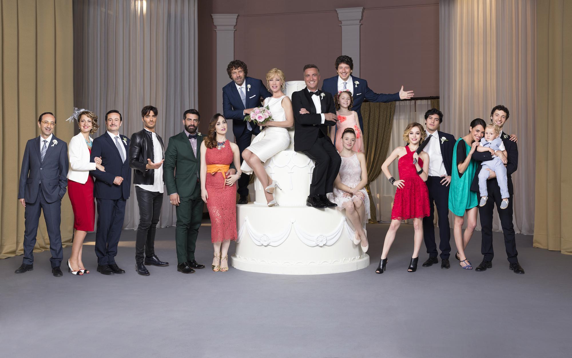 Matrimoni e altre follie: una foto del cast