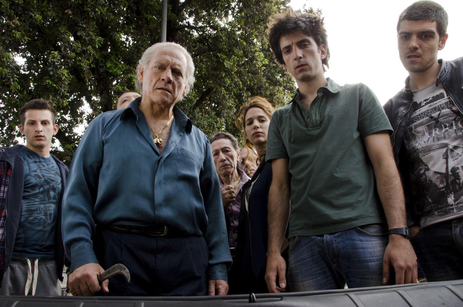 Tre giorni dopo: Giorgio Colangeli, Davide Gagliardi e Francesco Turbanti in una scena del film