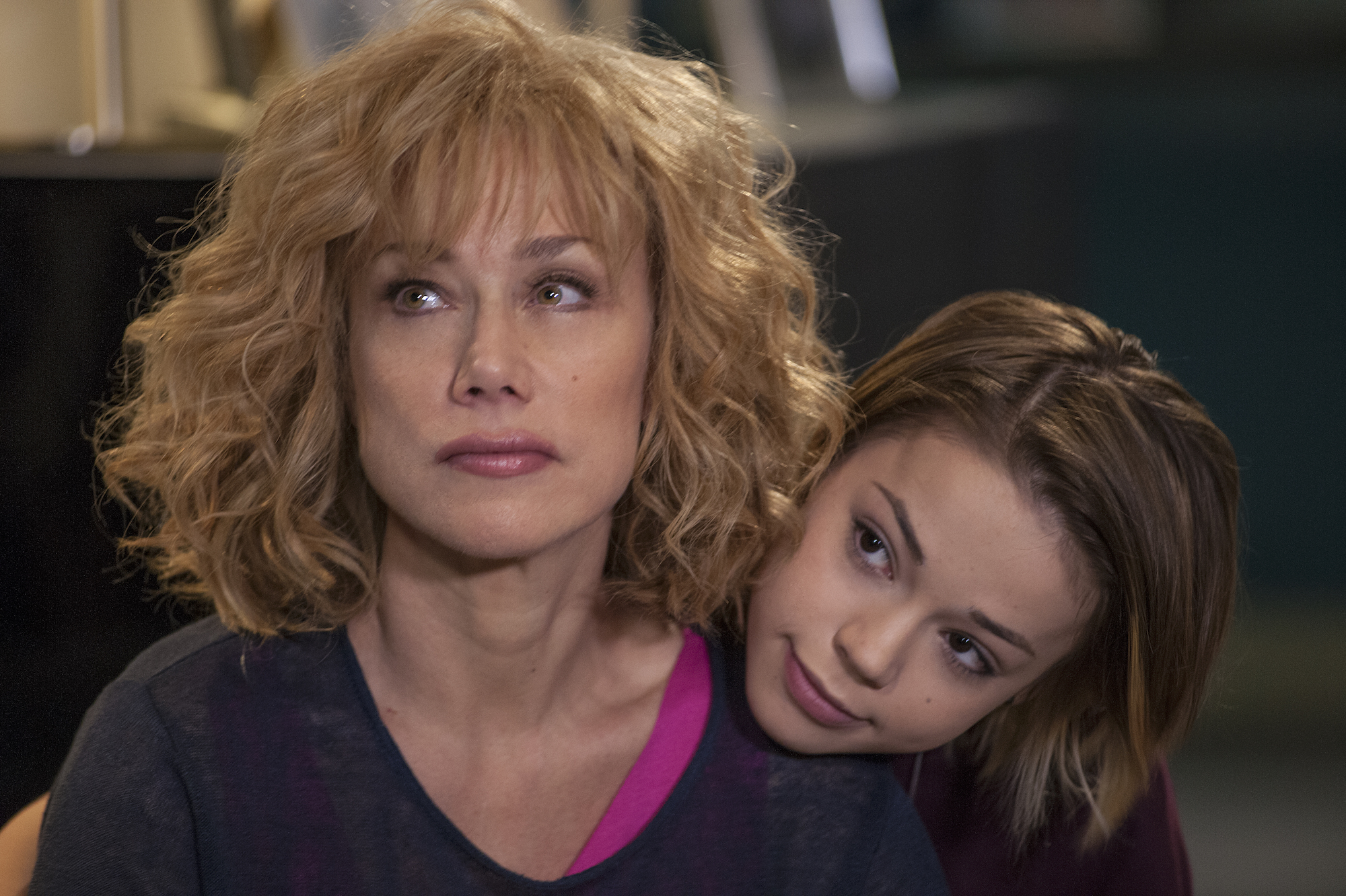 Matrimoni e altre follie: l'attrice Nancy Brilli in una foto della serie