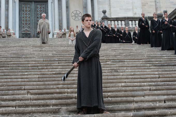 Il Trono di Spade: l'attore Eugene Simon interpreta Lancel Lannister in Blood of My Blood