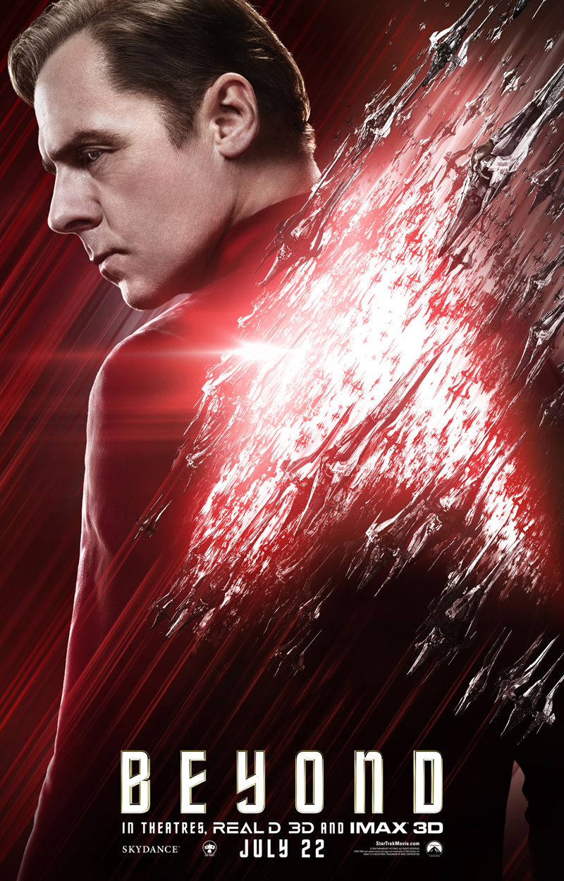 Star Trek Beyond: il character poster di Scotty