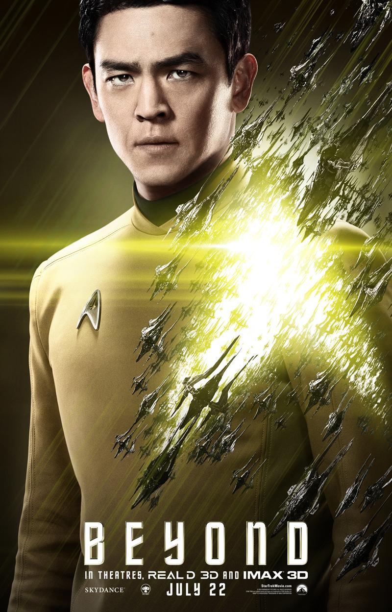 Star Trek Beyond: il character poster di Sulu
