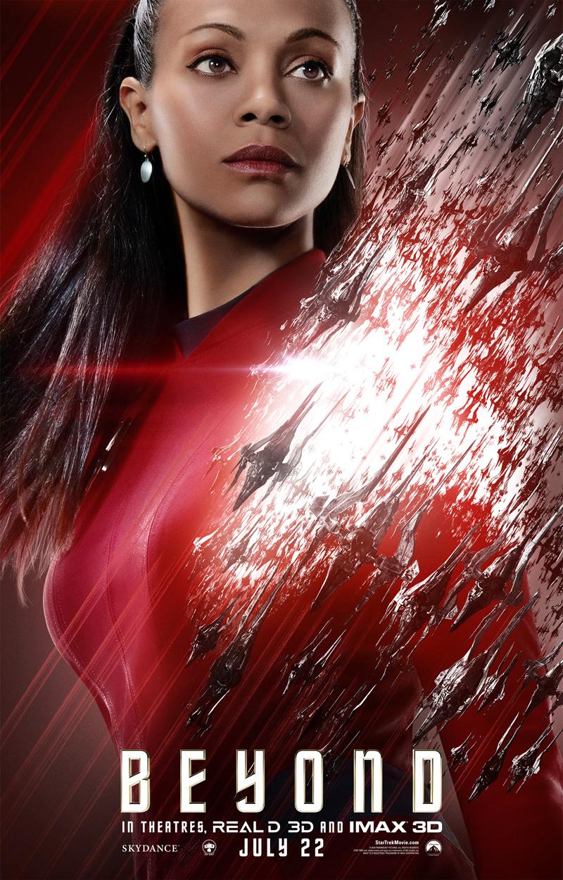 Star Trek Beyond: il character poster di Uhura