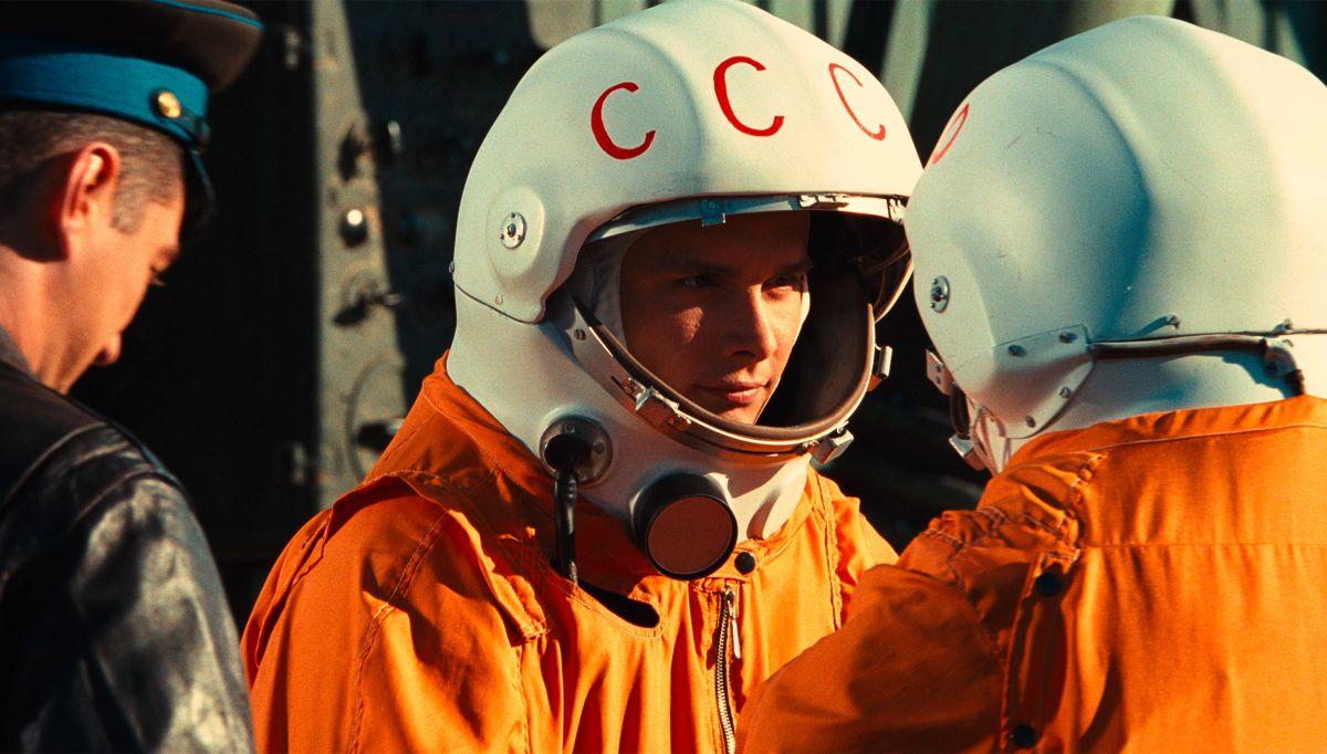Una scena di Gagarin - Primo uomo nello spazio