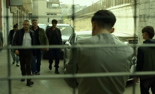 Gomorra: Fortunato Cerlino in una foto del settimo episodio
