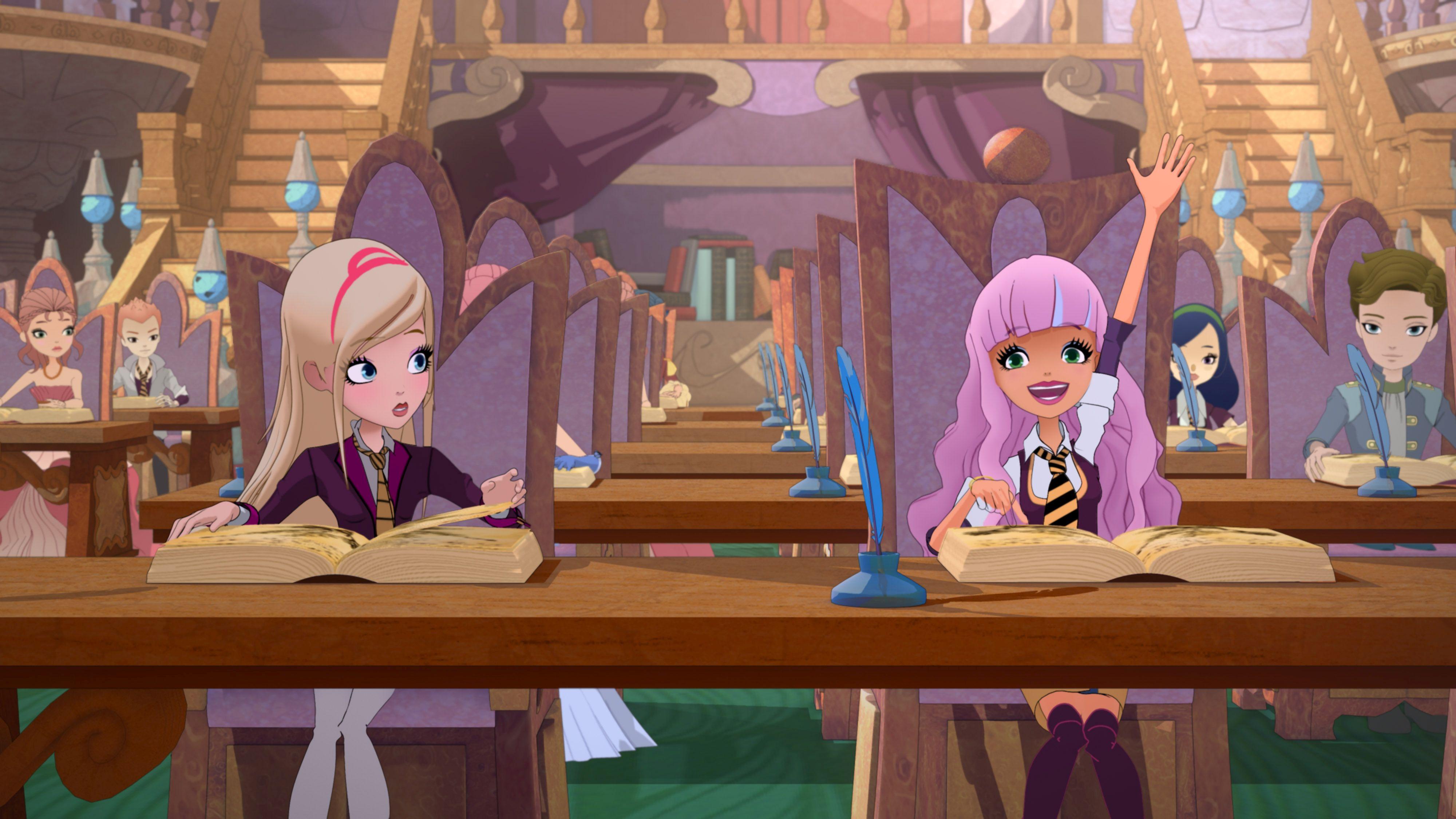 Ragal Academy: una scena della serie animata targata Rainbow