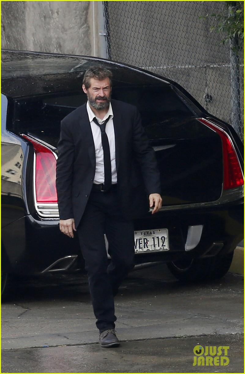 Wolverine 3: Hugh Jackman invecchiato sul set