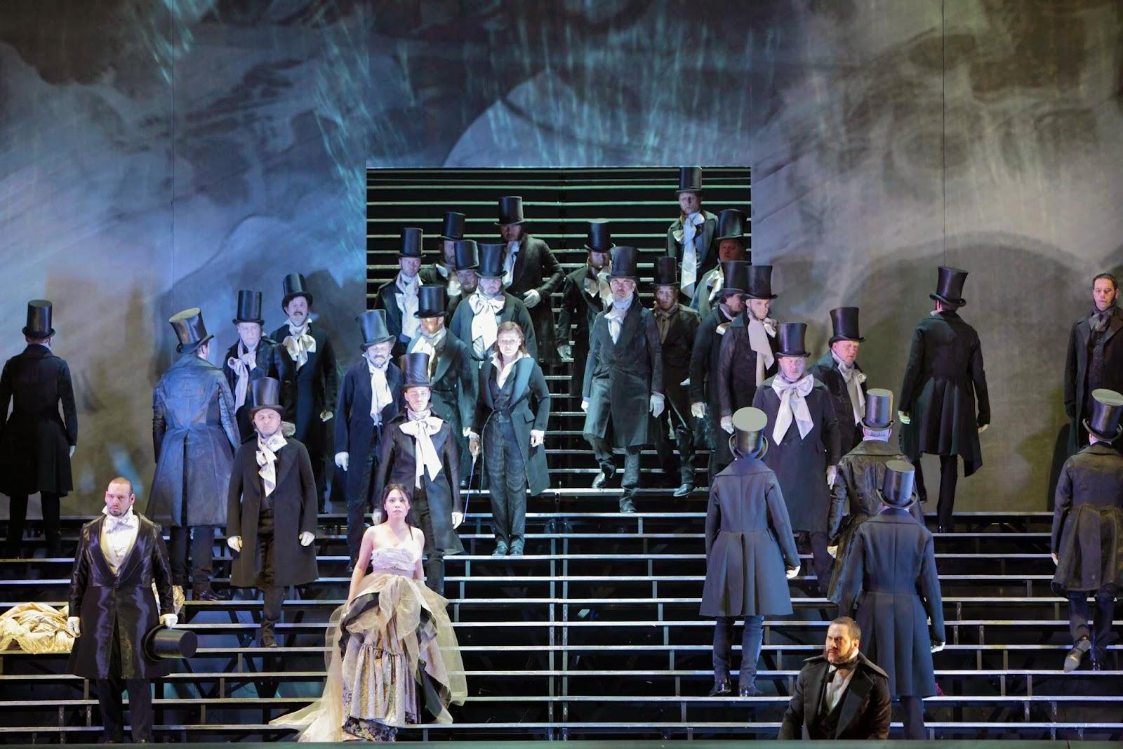 Teatro Gran Liceu di Barcellona: I Capuleti e i Montecchi, un'immagine dello spettacolo