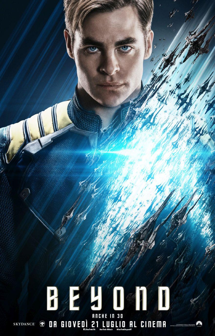 Star Trek Beyond: il character poster italiano di Kirk
