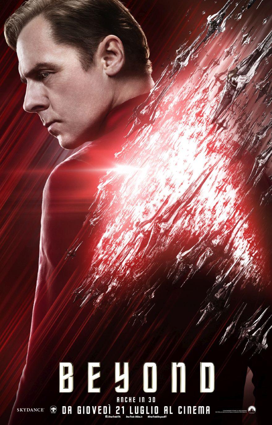 Star Trek Beyond: il character poster italiano di Scotty