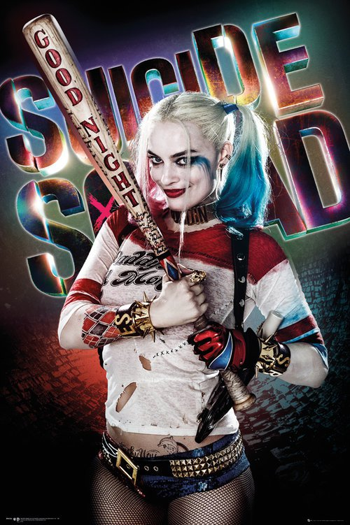 Suicide Squad: poster dedicato a Harley Quinn/Margot Robbie