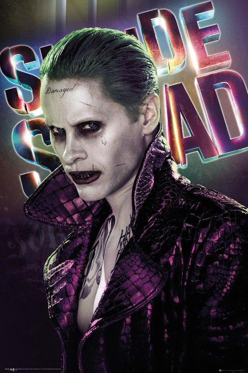 Suicide Squad: poster dedicato al Joker/Jared Leto