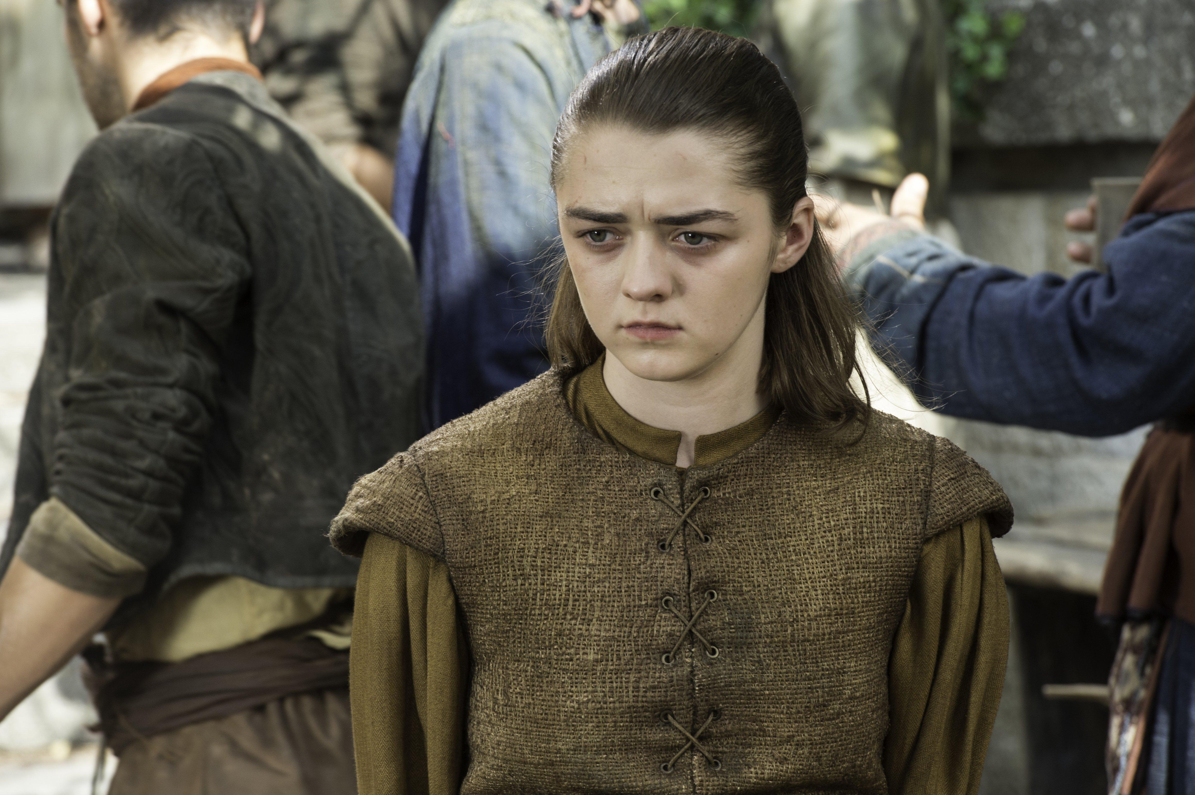 Il Trono di Spade: Maisie Williams interpreta Arya in The Broken Man
