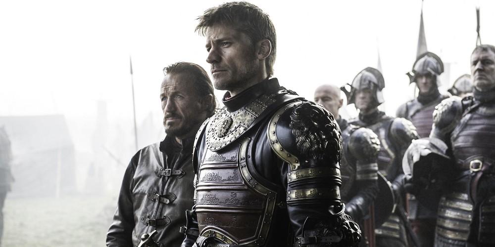 Il Trono di Spade: Jerome Flynn e Nikolaj Coster Waldau nell'episodio The Broken Man