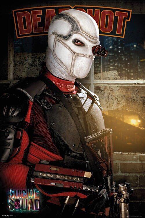 Suicide Squad: poster dedicato a Deadshot/Will Smith
