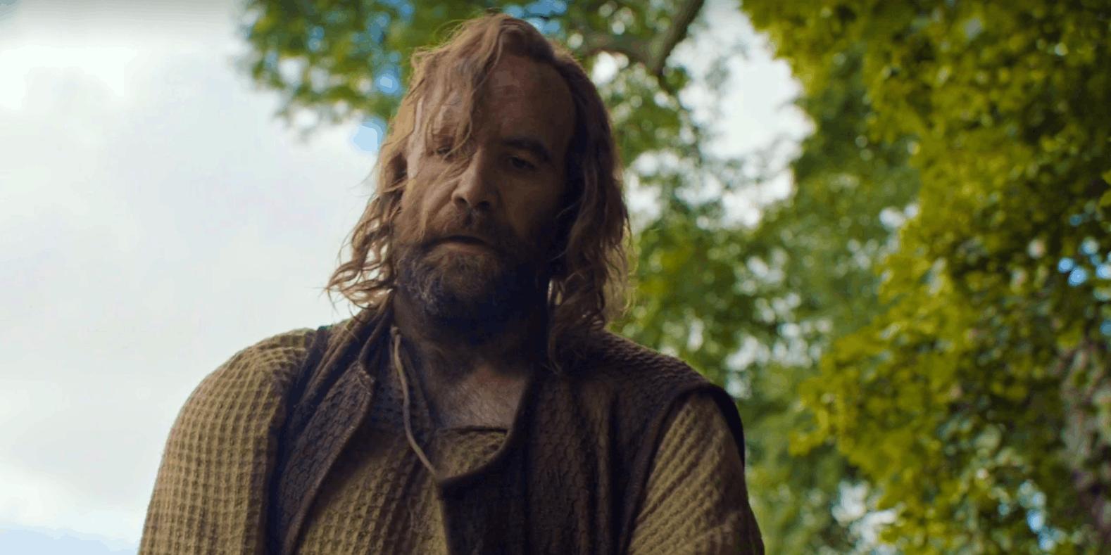 Il Trono di Spade: l'attore Rory McCann nella puntata The Broken Man
