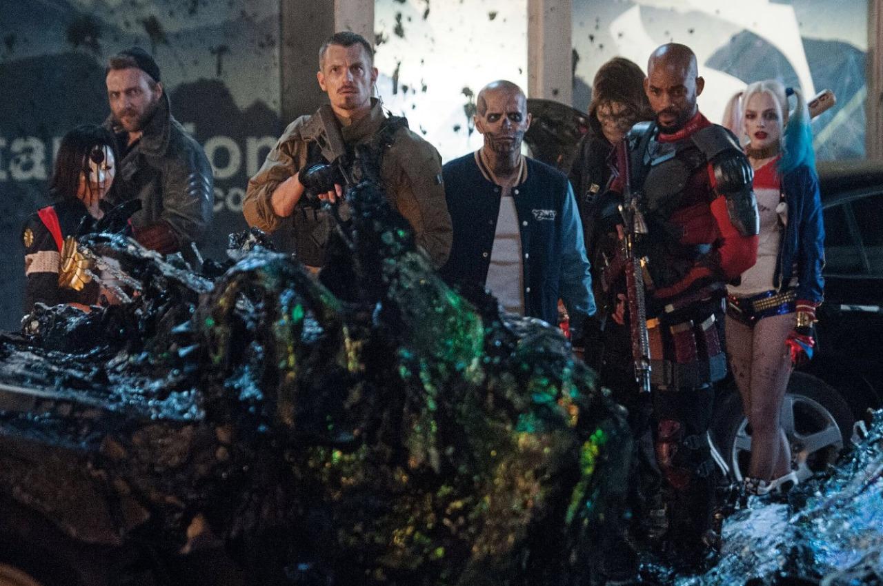 Suicide Squad: la squadra di villain al completo