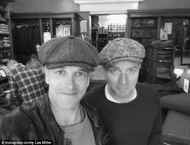 Trainspotting 2: Ewan McGregor e Jonny Lee Miller, selfie sul set