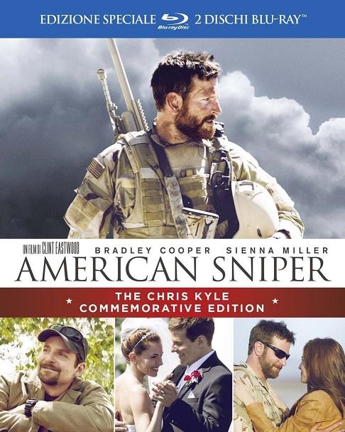La cover di Amercian Sniper - The Chris Kyle Commemorative Edition