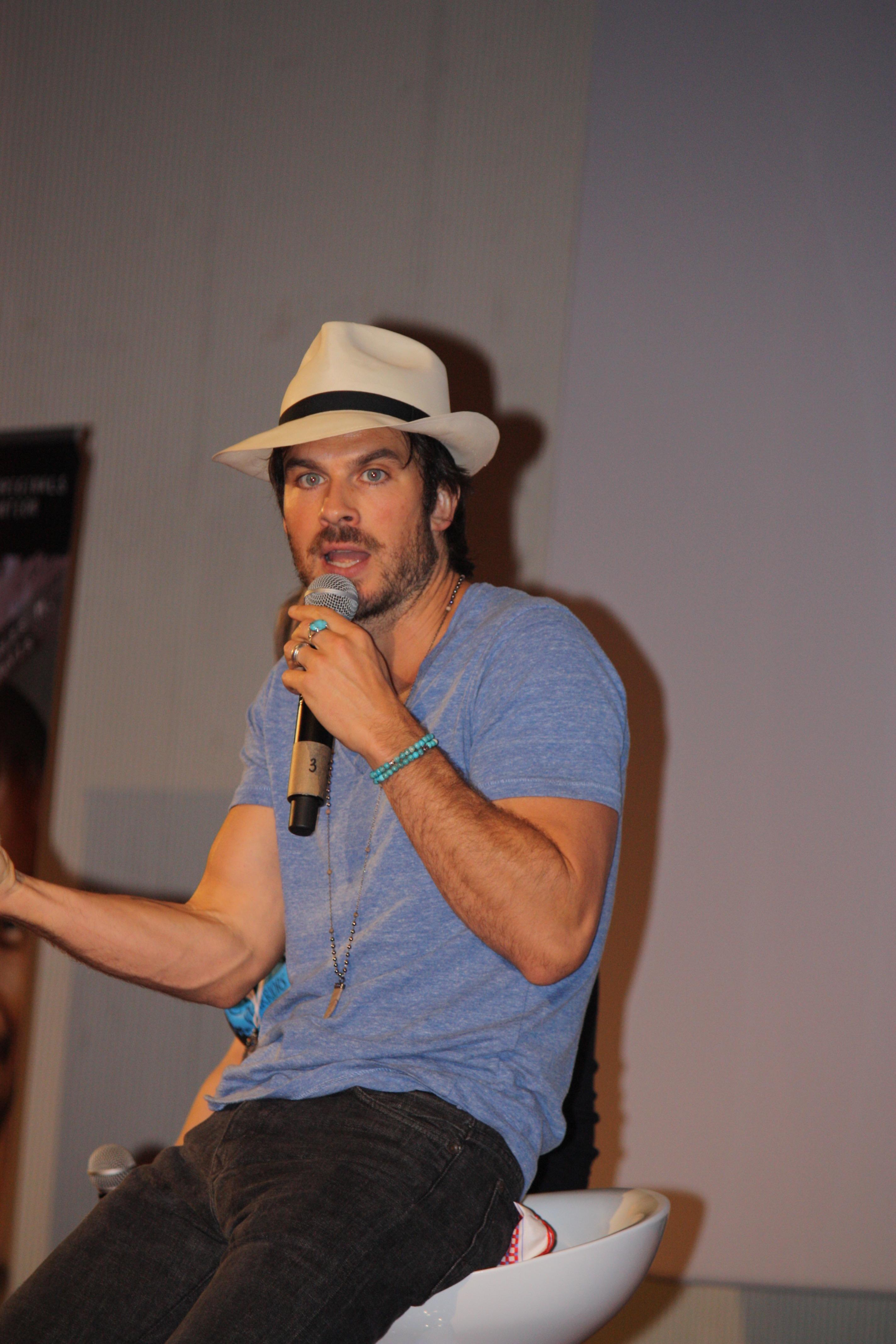The Vampire Diaries: l'attore Ian Somerhalder alla Love and Blood convention