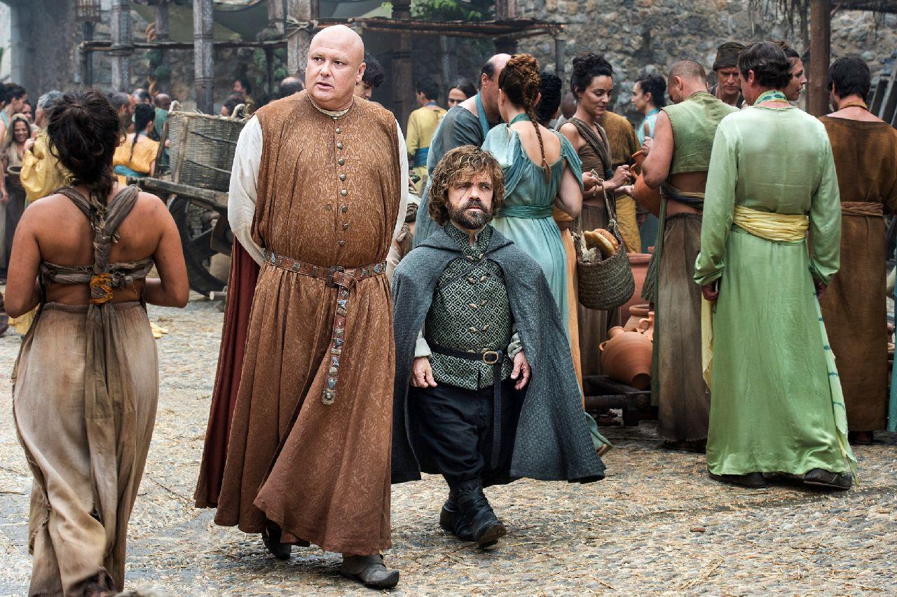 Il Trono di Spade: Varys e Tyrion in una foto di No One