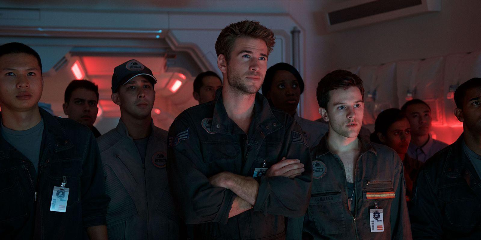 Independence Day: Rigenerazione - Liam Hemsworth in un momento del film