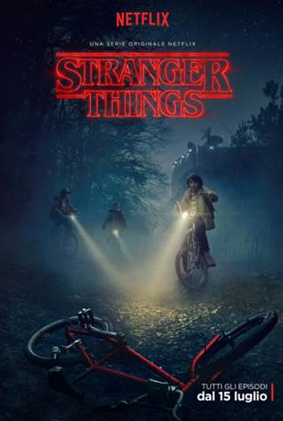 Stranger Things: la locandina della serie