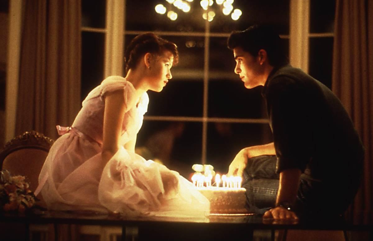 Sixteen Candles una immagine del film di John Hughes