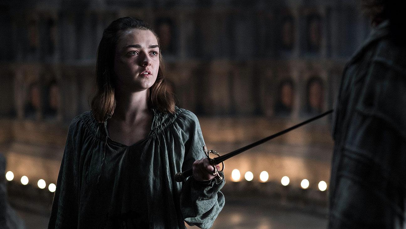 Il trono di spade 6: Maisie Williams nell'episodio No One