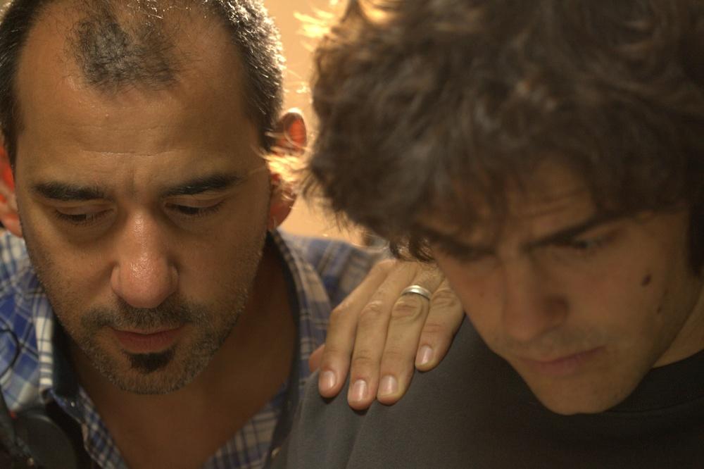 Il Clan: Juan Pedro Lanzani e il regista Pablo Trapero sul set del film