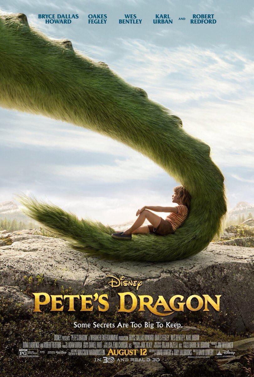 Pete's Dragon: la nuoba locandina ufficiale
