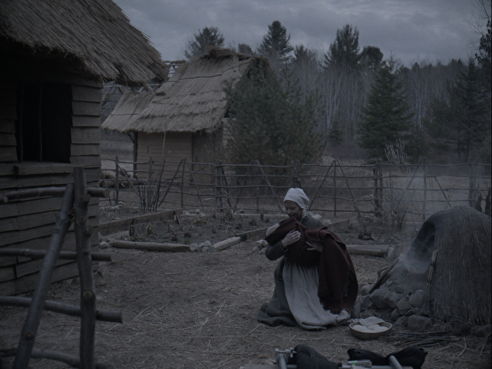 The Witch: Kate Dickie in una scena del film