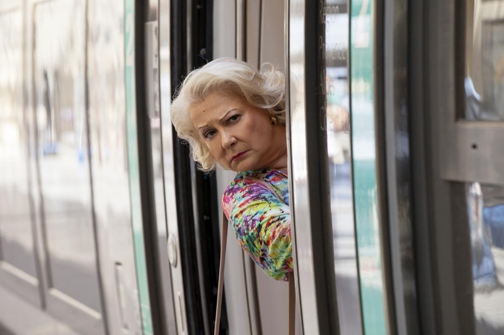 Torno da mia madre: Josiane Balasko in una scena del film