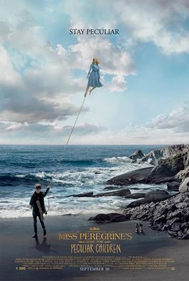 Miss Peregrine's Home for Peculiar Children - La nuova locandina