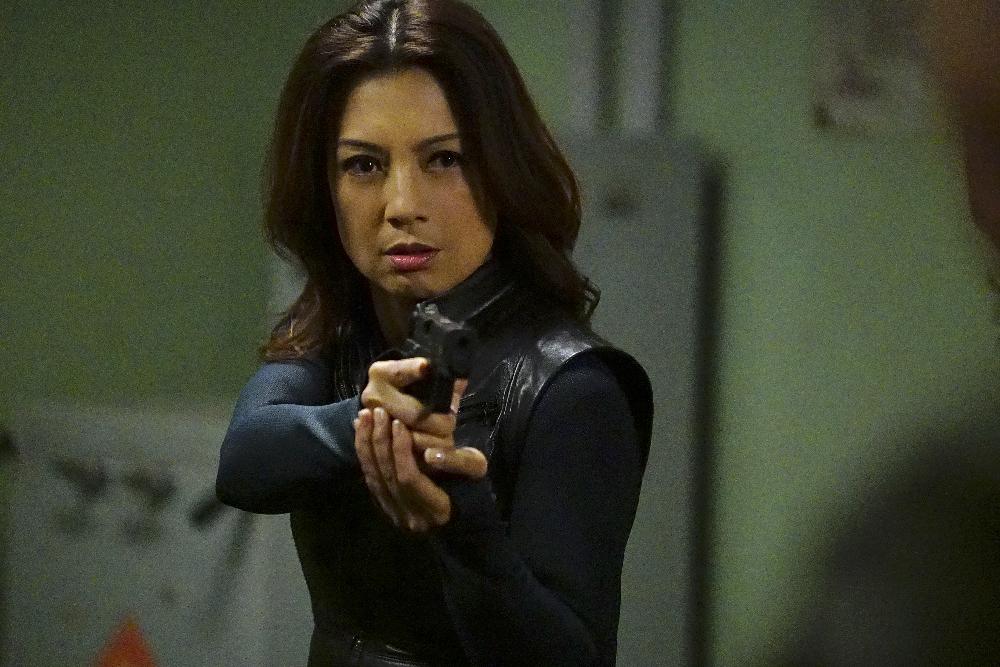Agents of S.H.I.E.L.D.: Ming-Na Wen in una foto del season finale Absolution/Ascension