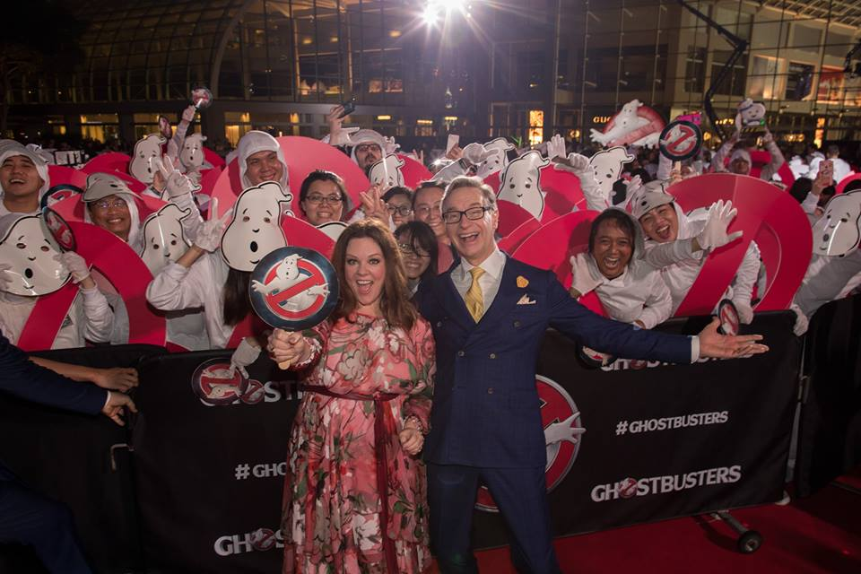 Ghostbusters: Melissa McCarthy e Paul Feig all'evento di Singapore