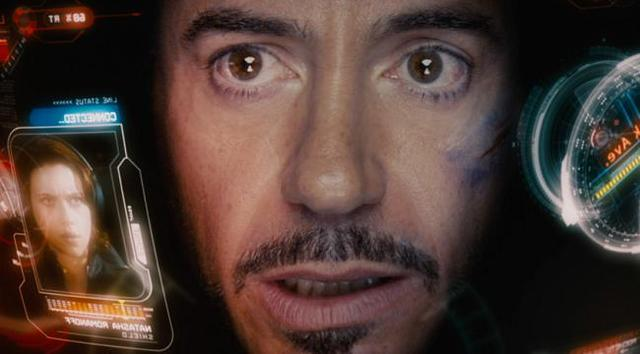Iron Man 2: un primo piano di Robert Downey Jr.