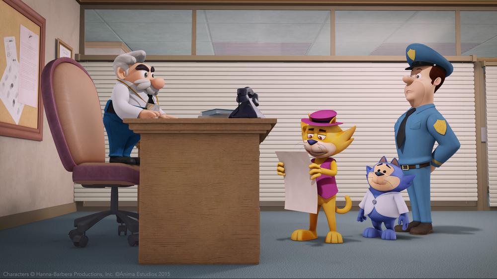 Top Cat e i gatti combinaguai: un'immagine del film animato