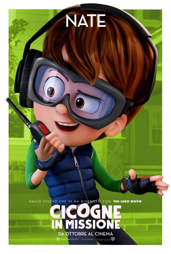 Cicogne in missione: il character poster di Nate