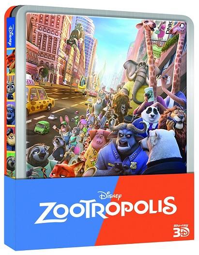 La steelbook di Zootropolis